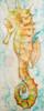 Seahorse painting by Tamara Kapan