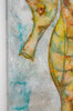 Close up of seahorse painting by Tamara Kapan