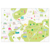 Map of Richmond and Surrounding Areas Art Print (Various Sizes)