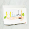 London wedding thank you cards