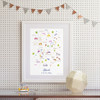 Map of Stroud & the 5 Valleys Art Print (Various Sizes)