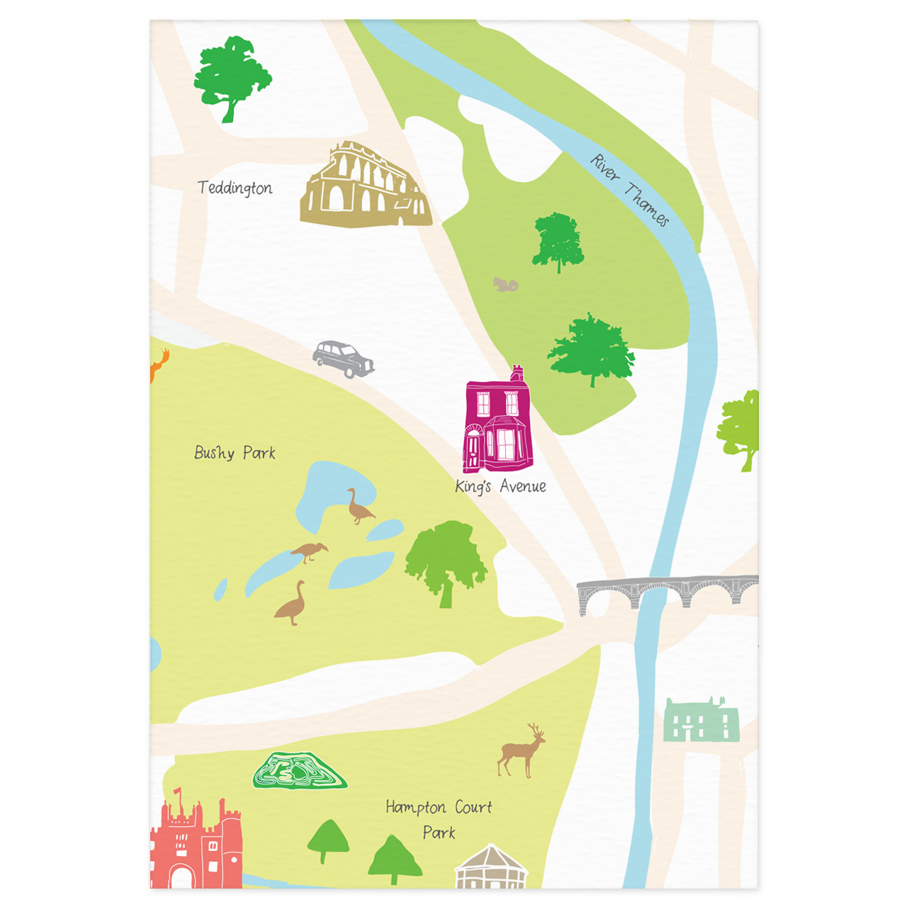 Add your house (or favourite building) to any map - Holly Francesca