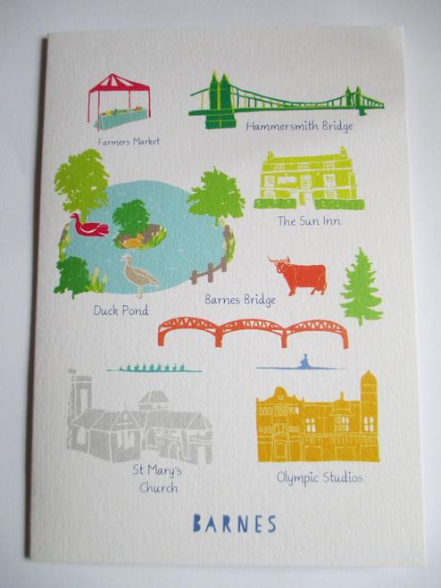 Barnes Landmarks Card