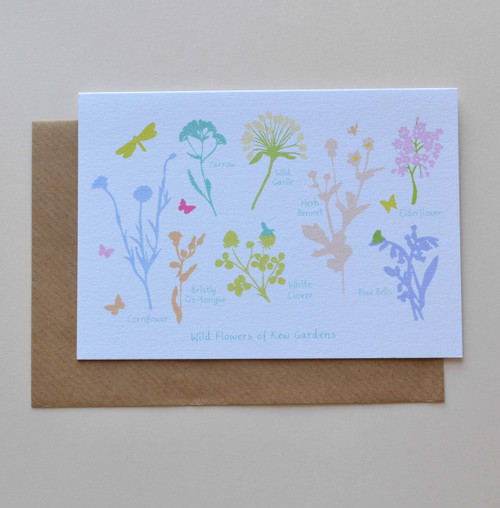 Wildflowers of Kew Gardens A6 Greeting Card