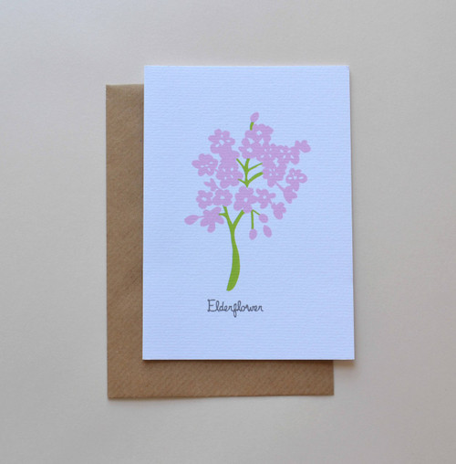 Elderflower A6 Greeting Card