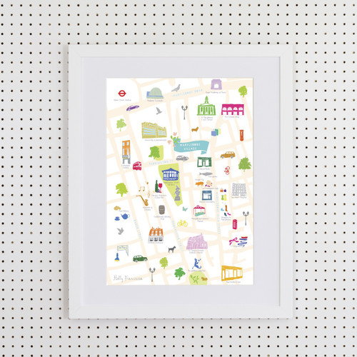 Marylebone Art Print (Various Sizes)