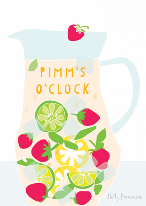 Pimm's O'Clock Art Print (Various Sizes)