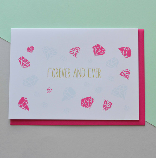 """Forever and Ever 5x7"""" Greeting Card"""
