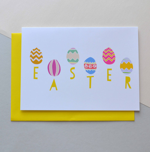 "Happy Easter 5x7"" Greeting Card"