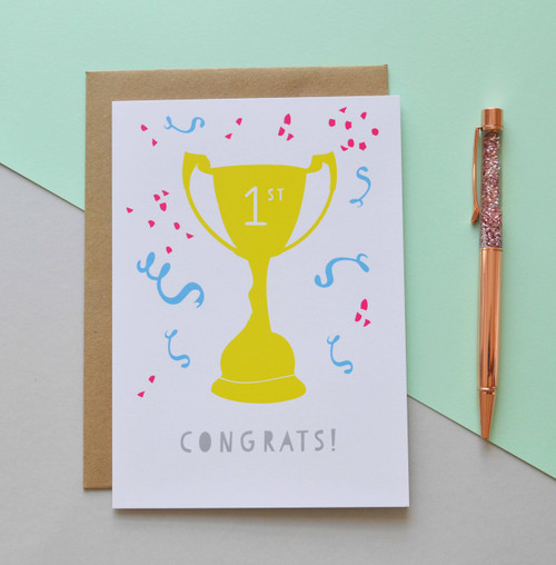 "Congrats! 5x7"" Greeting Card"
