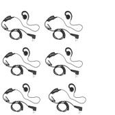 Motorola HKLN4604 Swivel Earpiece Pack of Six.