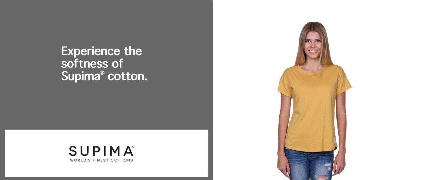 Women's Supima t-shirts