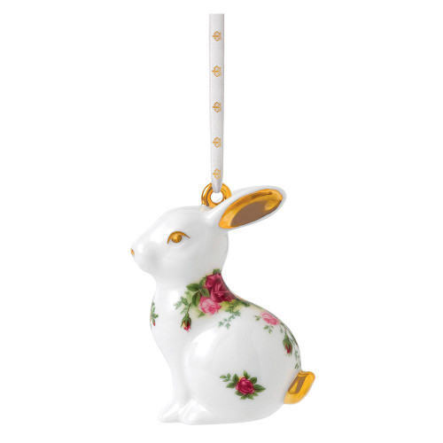 Royal Albert Rabbit Hanging Ornament