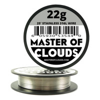 Stainless Steel 316L - 25 ft 22 Gauge Wire