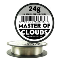 Stainless Steel 316L - 25 ft 24 Gauge Wire