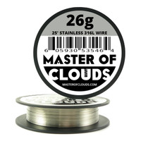 Stainless Steel 316L - 25 ft 26 Gauge Wire