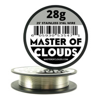 Stainless Steel 316L - 25 ft 28 Gauge Wire