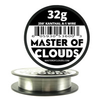 250 ft - 32 Gauge AWG A1 Kanthal Round Wire
