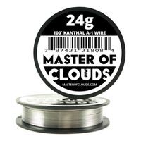 100 ft - 24 Gauge Kanthal A1 Round Wire