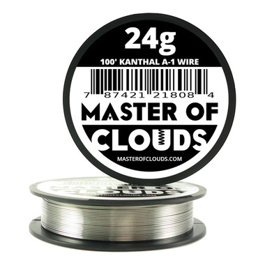 Resistance wire kanthal a 1 wire page 1 master of clouds 100 ft 24 gauge kanthal a1 round wire greentooth Images