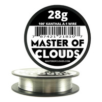 100 ft - 28 Gauge Kanthal A1 Round Wire