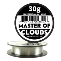100 ft - 30 Gauge Kanthal A1 Round Wire