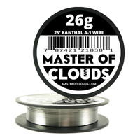 25 ft - 26 Gauge Kanthal A1 Round Wire