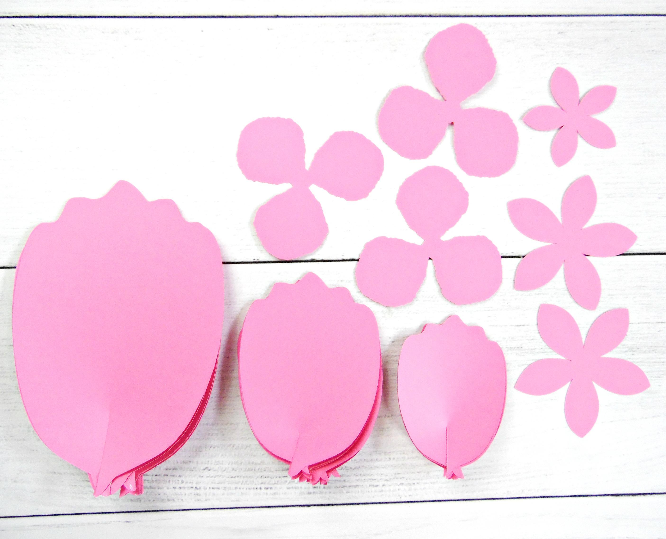 Large Paper Flower Pattern Nurufunicaasl