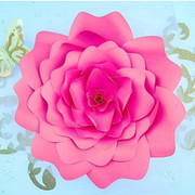 Bella style paper flower.