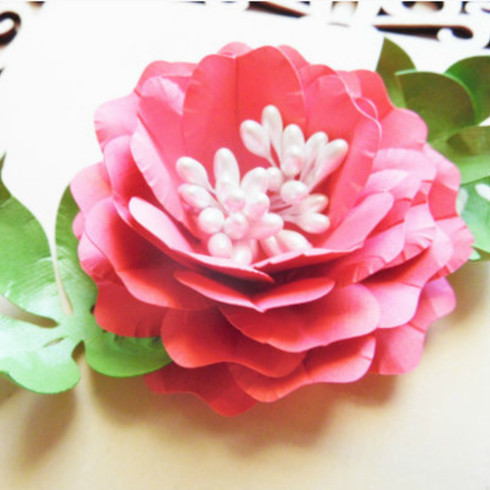 Diana rose style paper flower