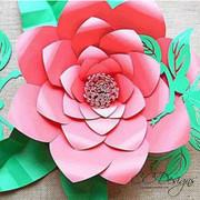Jasmine Style Giant Paper Flower