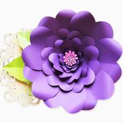 Elsie style giant paper flower
