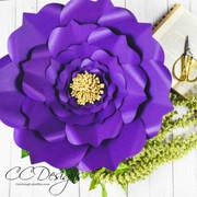 Arielle Style XL Flower Templates