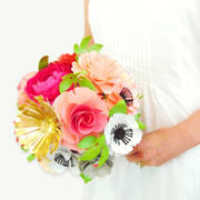 Paper Flower Bouquet example.