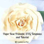 Majesty style paper flower example
