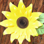 Giant paper sunflower.