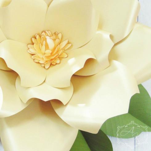Emery style giant flower