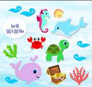 Sea Life SVG Cutting Files
