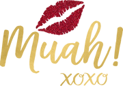 Muah Kissing Lips SVG cut file