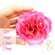 Angel cheek paper peony example.
