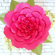 Giant Lacey style flower.