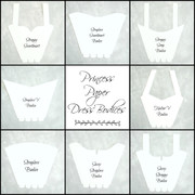 8 dress bodice templates