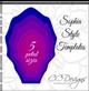 Sophia flower template (use for skirt)