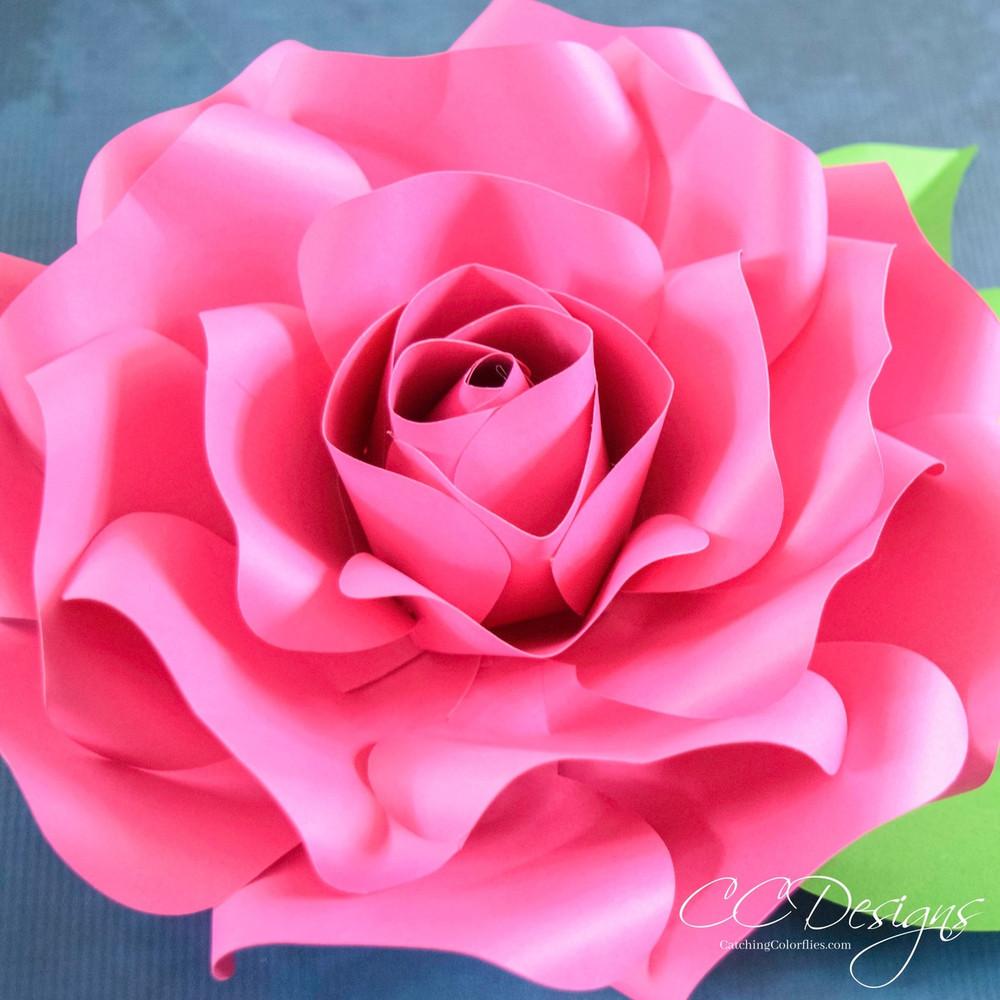 alora garden giant paper rose template  u0026 tutorial