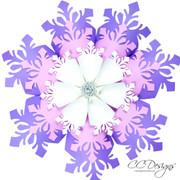 Large paper snowflake