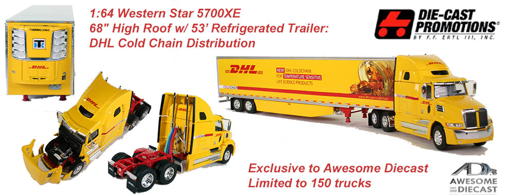 DHL ColdChain Tractor Trailer