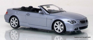 Minichamps 1:43 2006 BMW 6-Series Cabriolet