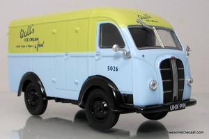 Oxford Diecast 1:43 Austin K8 Threeway Van - Walls Ice Cream