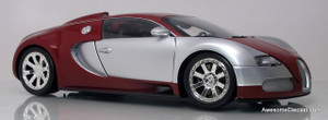Minichamps 1:18 2009 Bugatti Veyron (Chrome/Red)