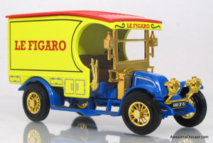 Matchbox Power of the Press 1:43 1910 Renault AG - Le Figaro